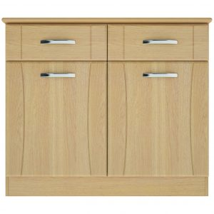 Nova Small Sideboard With 2 Doors & 2 Drawers