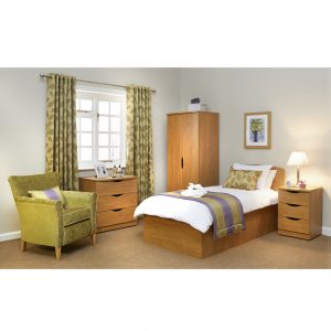 Valerio Bedroom Care Home Furniture Package